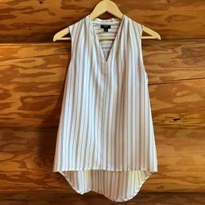 White Striped Dress Shirt